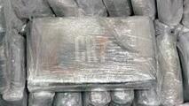 Confiscan bloques de cocaína con logo de CR7