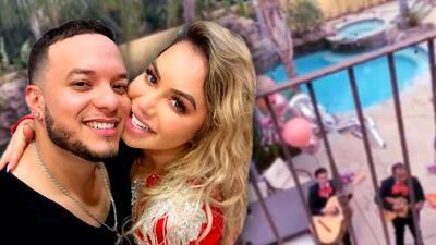 A tres días de la boda, Lorenzo Méndez conmueve a Chiquis Rivera con una serenata por un motivo especial
