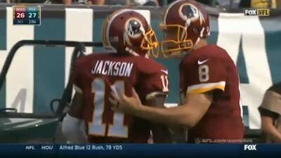 Se espera que DeSean Jackson juegue ante los Giants