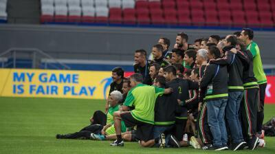 El 'Tri' ya pisó el terreno del Kazan Arena donde espera ganarle a Portugal