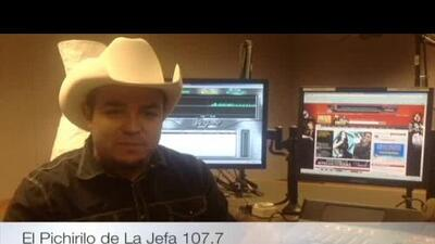 Escucha a 'El Pichirilo' todas las mañanas en La Jefa 107.7