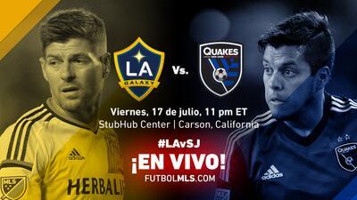 Clásico de California en vivo este viernes por UniMás: LA Galaxy vs San Jose Earthquakes