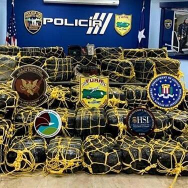 Ofrecen detalles sobre cargamento de cocaína incautado, valorado en sobre $50 millones