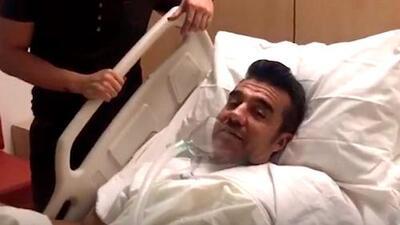 Exclusiva: Adrián Uribe podría salir del hospital en una semana