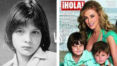 Los hijos de Luis Miguel, ¿se parecen a papá o a mamá?