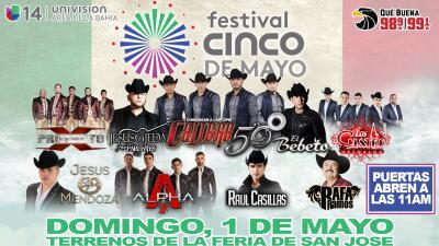 ¡Ya viene el Festival del Cinco de Mayo en la Bahía!