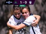 Pumas indomables, gana a Pachuca y están invictas en la Liga Femenil