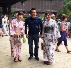 Las vacaciones de Raúl Brindis en Japón