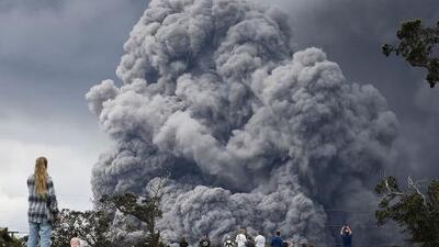 Declaran máxima alerta en Hawaii ante la inminencia de una gran erupción del volcán Kilauea