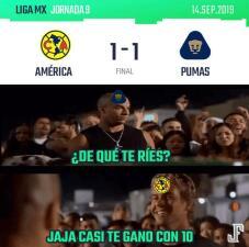Los mejores memes de la jornada 9 en la Liga MX