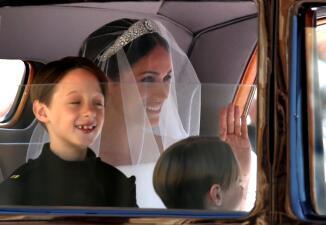 """En fotos: Los mejores momentos de la histórica boda del príncipe Harry con la nueva """"duquesa del pueblo"""", Meghan Markle"""