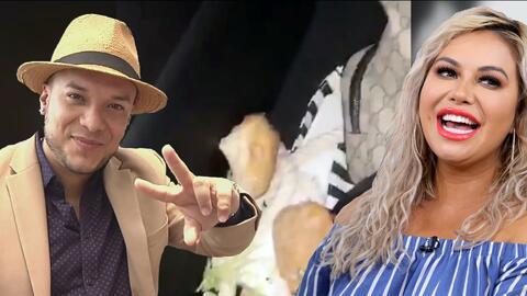 """Risas, un sándwich y hasta un """"mi amor"""": así la pasaron Chiquis Rivera y Lorenzo Méndez en Las Vegas"""