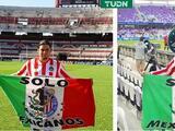 Chivas saca del estadio a aficionado emblema por uso de una bandera