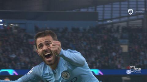 Y lo iguala al City: Bernardo Silva empata el partido y le da esperanzas a su equipo
