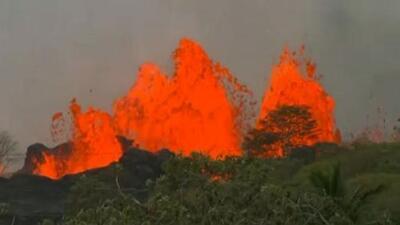 Así de impresionante fue esta erupción del volcán Kilauea en Hawaii