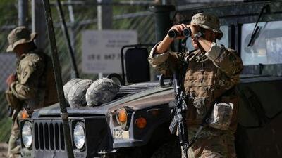 California anuncia que enviará 400 soldados de la Guardia Nacional a la frontera con México