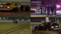 Testigos captan en video la carrera callejera de autos en Houston que dejó dos muertos