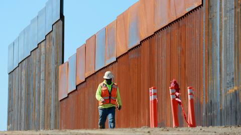 El Pentágono envía al Congreso una lista de proyectos de construcción que serían pospuestos para financiar el muro