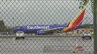 Avión de Southwest Airlines aterriza de emergencia en Los Ángeles