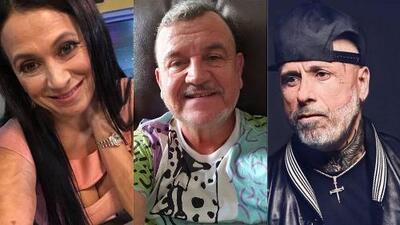 Entre canas y arrugas: Los famosos se sumaron al reto de mostrarse como viejitos