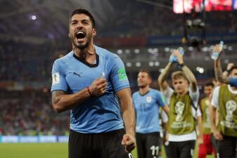 En fotos: los convocados de Uruguay ante el Tri