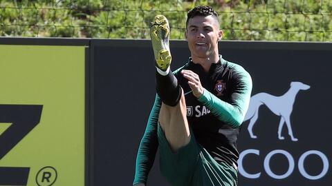 ¡Volvieron los goles! Cristiano Ronaldo entrenó con Portugal después de nueve meses