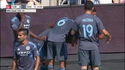 ¡El rey está de regreso! David Villa anota con una mágica jugada, Toronto 0-1 NY City