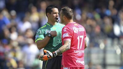 "Cristian Campestrini: ""El árbitro me dijo que me iba a echar"""