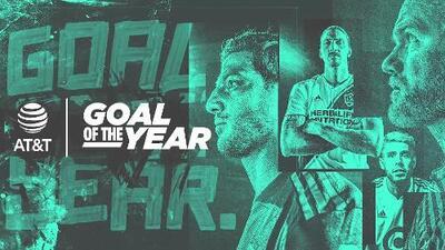 ¿De fantasía o con toda la potencia? Ya puedes elegir al Gol del Año en la MLS 2019