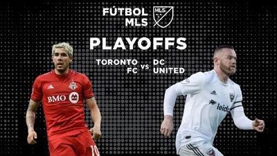 Toronto FC recibe a DC United en la primer ronda de playoffs de la Conferencia Este