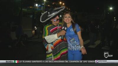 Kevin Arnulfo estuvo en El Salvador vs México
