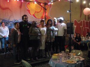 Una cena en Nueva York fue escenario de la discusión sobre el derecho de los inmigrantes a trabajar legalmente