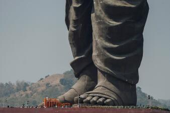 India inaugura la estatua más alta del mundo (que dobla el tamaño de la Estatua de la Libertad)