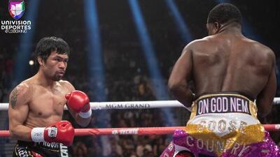 Manny 'Pac-man' Pacquiao busca pleito