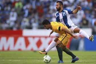En fotos: Honduras empató 0-0 con Australia y se aleja de Rusia 2018