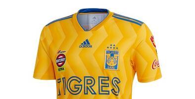 Camiseta Oficial de Tigres de la Liga MX