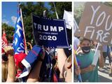 Capitolio de Texas se convierte en el escenario de protestas y celebración por resultados presidenciales