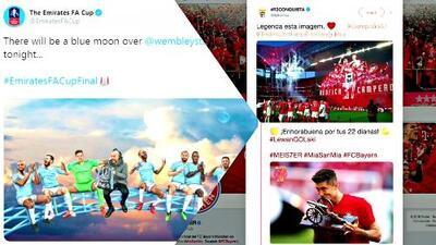 ¡Explotaron las redes! Los saludos a los campeones en Portugal, Alemania e Inglaterra