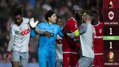 ¡Falló! Ochoa se come un gol con el Standard en el empate ante el Amberes