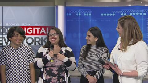 Jóvenes de El Bronx ganan una competencia nacional de arte y sus obras son exhibidas en el MET