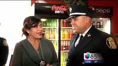 Homenaje a Policias Latinos en Filadelfia Durante Mes De la Hispanidad