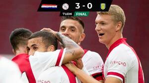Golea Ajax al RKC Waalwijk en la Eredivisie