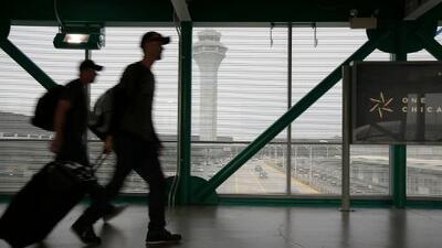 Cancelan más de 200 vuelos por el mal tiempo en el Aeropuerto Internacional O'Hare