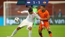 Holanda y España empataron en histórico duelo para Sergio Ramos