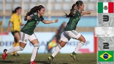 México da la campanada en el Mundial Sub-20 Femenil
