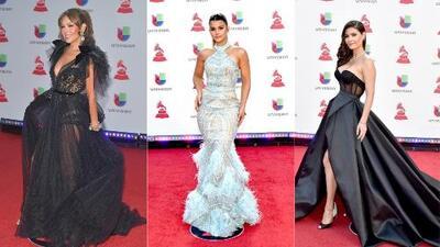 ¿Quiénes fueron los mejor y peor vestidos de los premios Latin GRAMMY en Las Vegas?