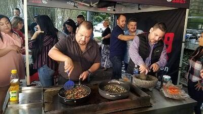 La receta de machacado con huevo de Grupo Pesado