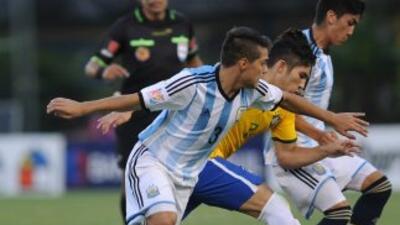 Argentina gana 1-0 a Brasil en inicio del hexagonal final Sub-17