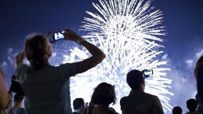 Los fuegos artificiales, una tradición para celebrar el 4 de julio