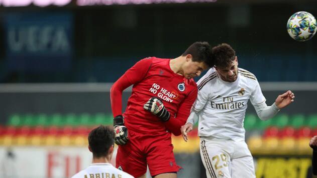 ¡Portero de Brujas anota gol al Real Madrid!